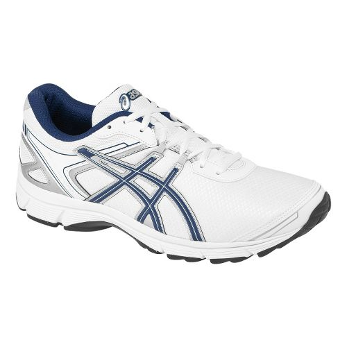 Mens ASICS GEL-Quickwalk 2 Walking Shoe - White/Navy 8.5