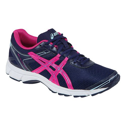 Womens ASICS GEL-Quickwalk 2 Walking Shoe - Navy/Raspberry 11.5