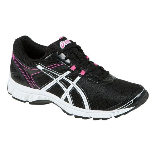 Womens ASICS GEL-Quickwalk 2 Walking Shoe - Black/Pink 7.5