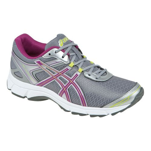 Womens ASICS GEL-Quickwalk 2 Walking Shoe - Silver/Purple 6.5