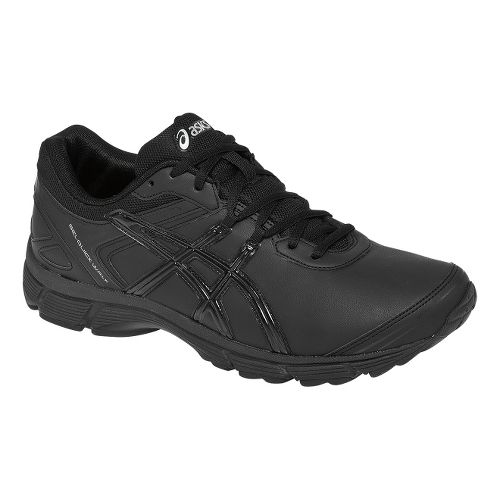 Mens ASICS GEL-Quickwalk 2 SL Walking Shoe - Black/Silver 9.5