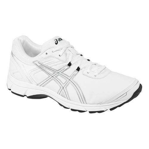 Mens ASICS GEL-Quickwalk 2 SL Walking Shoe - White/Silver 11.5