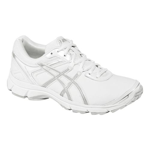Womens ASICS GEL-Quickwalk 2 SL Walking Shoe - White/Silver 11.5