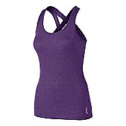 Womens ASICS Fit-Sana Rib Tank Technical Tops