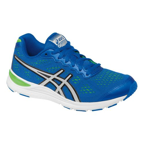 Kids ASICS GEL-Storm GS Running Shoe - Royal/Lightning 4