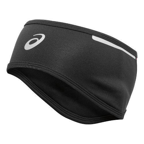 ASICS PR Shelter Headwarmer Headwear - Black/Berry Stripe