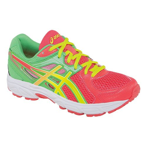 Kids ASICS GEL-Contend 2 GS Running Shoe - Diva Pink/Yellow 4.5
