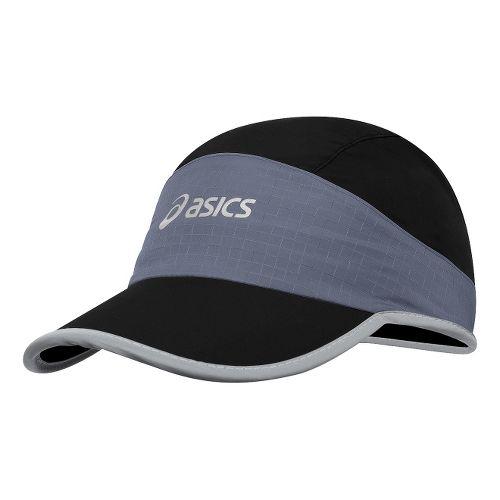 ASICS Storm Shelter Cap Headwear - Black/Slate