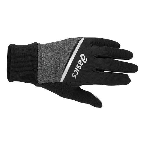 ASICS PR Shelter Gloves Handwear - Black/Heather Iron L/XL
