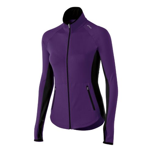 Womens ASICS Fit-Sana Running Jackets - Berry M