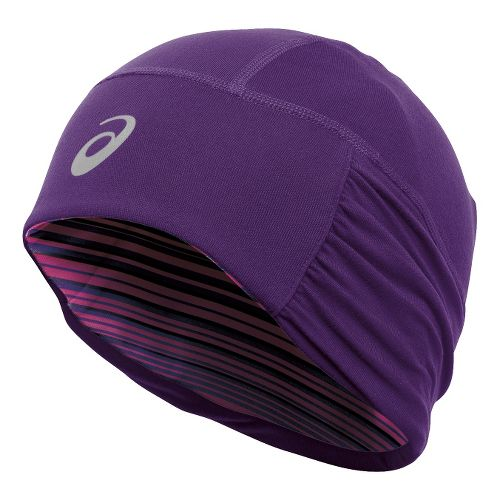Womens ASICS Felicity Fleece Beanie Headwear - Berry