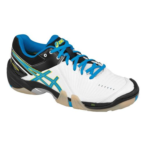 Womens ASICS GEL-Domain 3 Court Shoe - Diva Blue/White 6.5