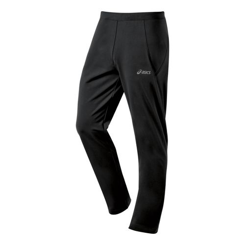 Mens ASICS Thermal XP Slim Full Length Pants - Black M