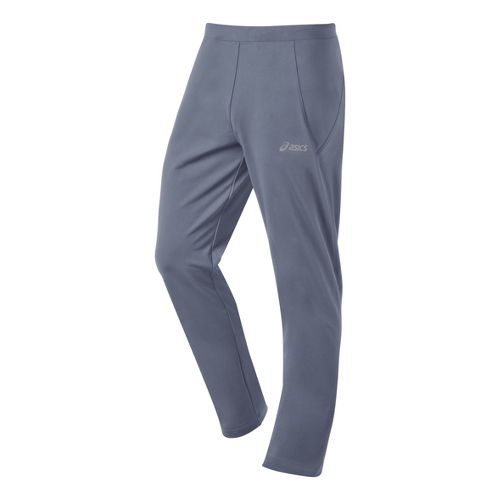 Mens ASICS Thermal XP Slim Full Length Pants - Slate 2X