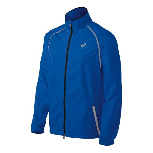 Mens ASICS Spry Running Jackets - New Blue XL