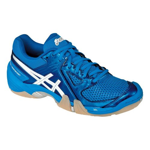 Womens ASICS GEL-Dominion Court Shoe - Diva Blue/White 7.5