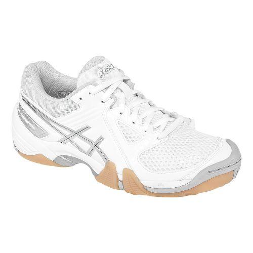 Womens ASICS GEL-Dominion Court Shoe - White/Silver 8.5