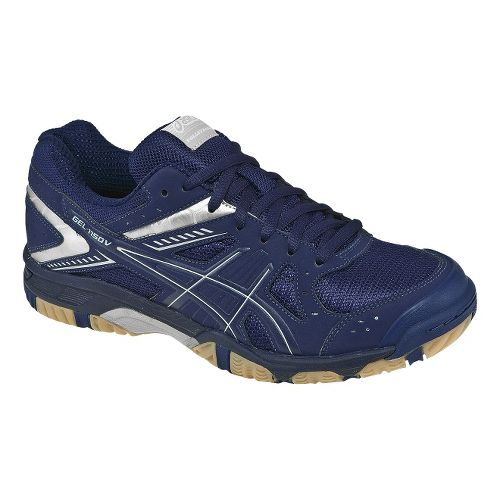 Womens ASICS GEL-1150V Court Shoe - Navy/Silver 6.5