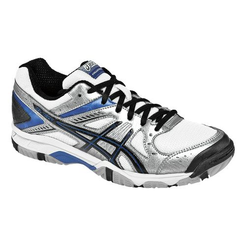Womens ASICS GEL-1150V Court Shoe - Silver/Royal 9.5