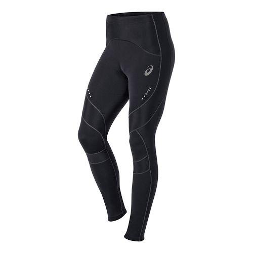 Mens ASICS Leg Balance Tight Fitted Tights - Black/Black L