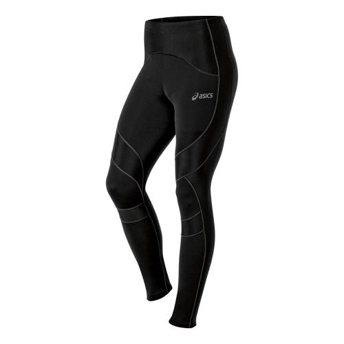 Mens ASICS Leg Balance Fitted Tights - Performance Black M