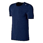 Mens ASICS ASX Seamless Short Sleeve Technical Tops