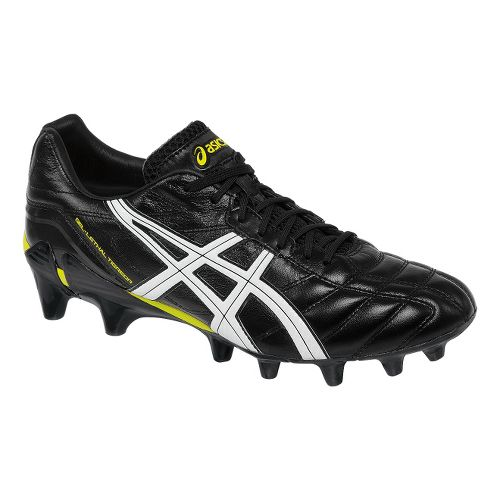 Mens ASICS GEL-Lethal Tigreor 7 IT Track and Field Shoe - Black/White 14