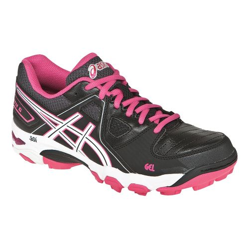 Womens ASICS GEL-Blackheath 5 Track and Field Shoe - Black/Pink 11
