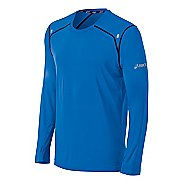 Mens ASICS PR Lyte Long Sleeve No Zip Technical Tops