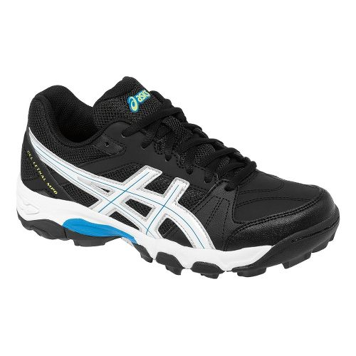 Womens ASICS GEL-Lethal MP6 Track and Field Shoe - Black/White 6.5