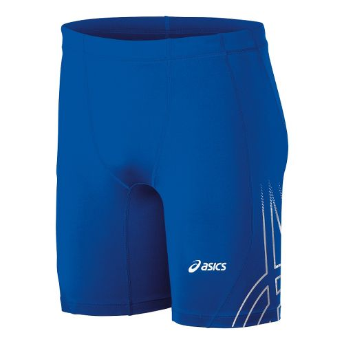 Mens ASICS Team Performance Track Fitted Shorts - Royal M