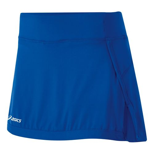 Womens ASICS Attacker Skort Fitness Skirts - Royal XXL
