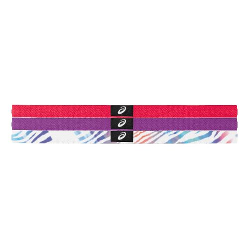 Womens ASICS Hera 3Pk Thin Headbands Headwear - Verve