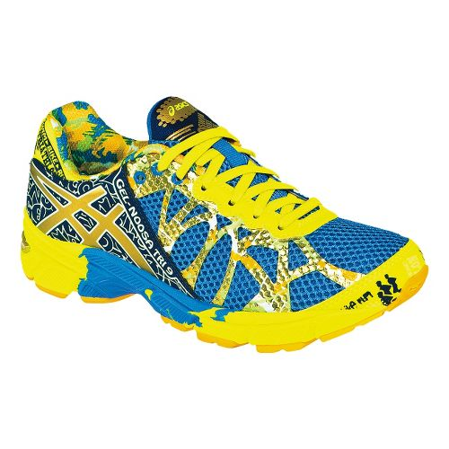 Kids ASICS GEL-Noosa Tri 9 GS GR Running Shoe - Royal/Gold 5.5