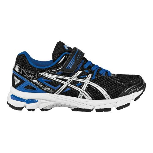 Kids ASICS GT-1000 3 PS Running Shoe - Black/Lightning 13