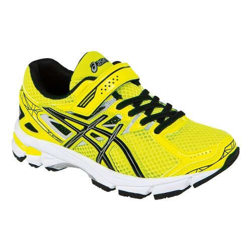 Kids ASICS GT-1000 3 PS Running Shoe - Flash Yellow/Black 2.5