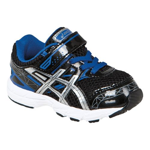Kids ASICS GT-1000 3 TS Running Shoe - Black/Lightning 4