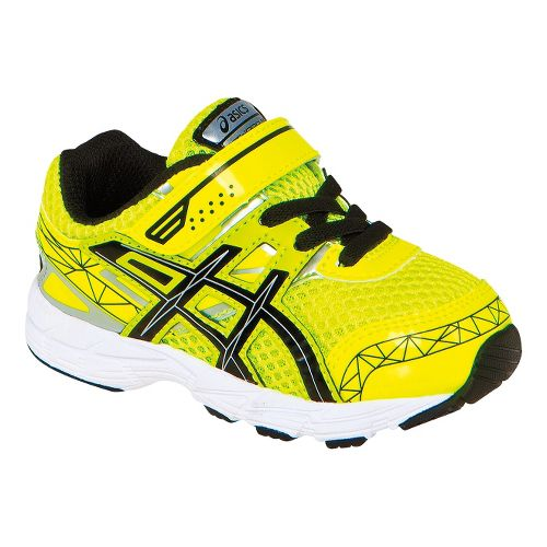 Kids ASICS GT-1000 3 TS Running Shoe - Flash Yellow/Black 5