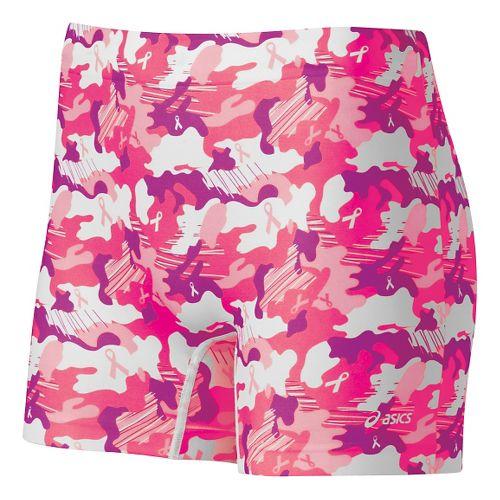 Womens ASICS PR Runbrief Boy Short Underwear Bottoms - KnockoutPink M/L