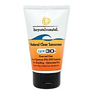Beyond Coastal Natural Clear SPF 30+ 2.5 ounce Skin Care