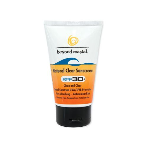 Beyond Coastal Natural Clear SPF 30+ 2.5 ounce Skin Care - null 2.5