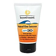 Beyond Coastal Natural Clear SPF 30+ 4 ounce Skin Care
