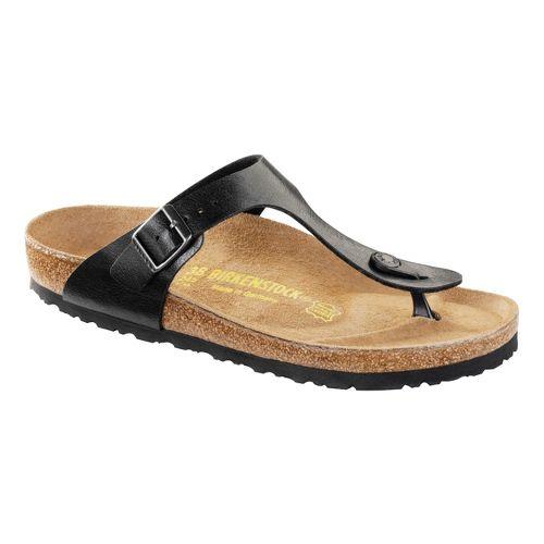 Womens Birkenstock Gizeh Sandals Shoe - Licorice 40