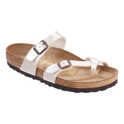 Womens Birkenstock Mayari Sandals Shoe - Antique Lace Birko-Flor 37