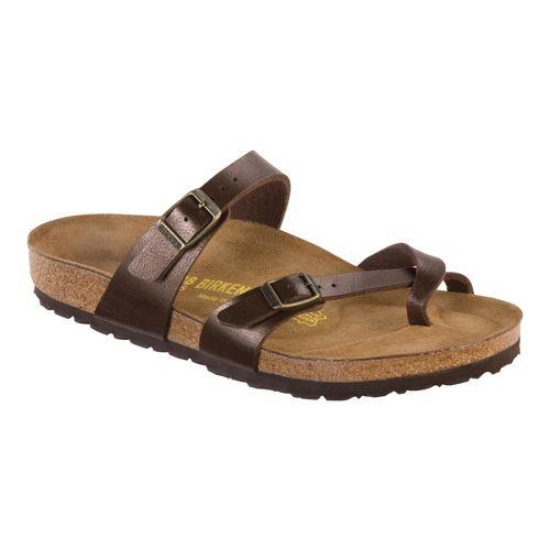 Womens Birkenstock Mayari Sandals Shoe - Toffee Birko-Flor 37