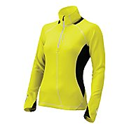 Womens Brooks Nightlife Podium 1/2 Zip Long Sleeve Technical Tops
