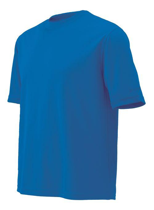 Mens Brooks Podium Short Sleeve Technical Tops - Brooks Blue L