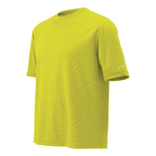 Mens Brooks Podium Short Sleeve Technical Tops - Nightlife XS