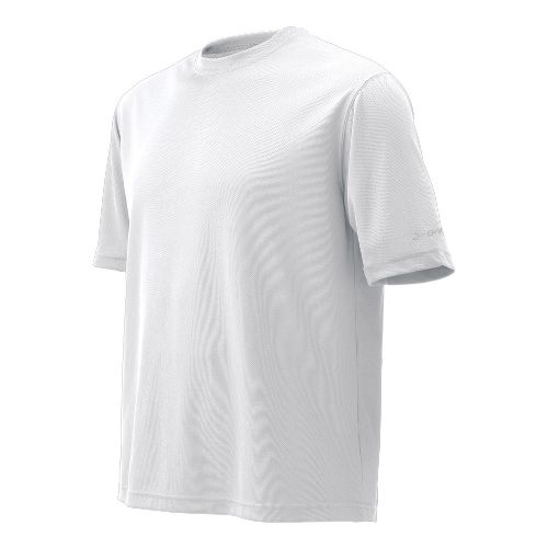 Mens Brooks Podium Short Sleeve Technical Tops - White L