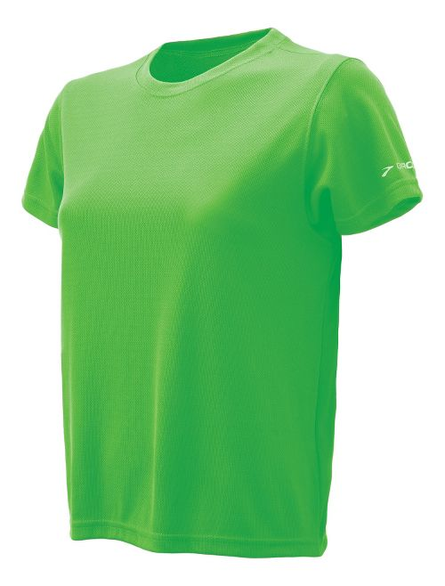 Womens Brooks Podium Short Sleeve Technical Tops - Bali Green L
